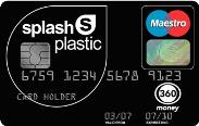 Splash Plastic Prepaid Card