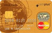 Cashplus Prepaid Gold MasterCard