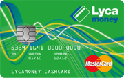 Lycamoney Prepaid Card