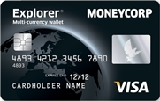Moneycorp Explorer Prepaid Card