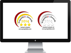 Prepaid365 Awards 2014 Badges