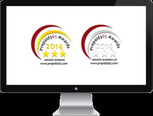 Prepaid365 Awards 2014 Badges